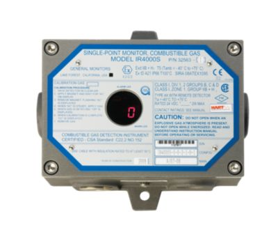 IR4000S Single-Point Gas Monitor